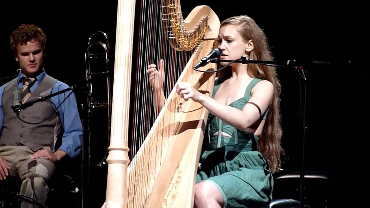 Joanna Newsom.  On my bucket list is to see her live one day<3