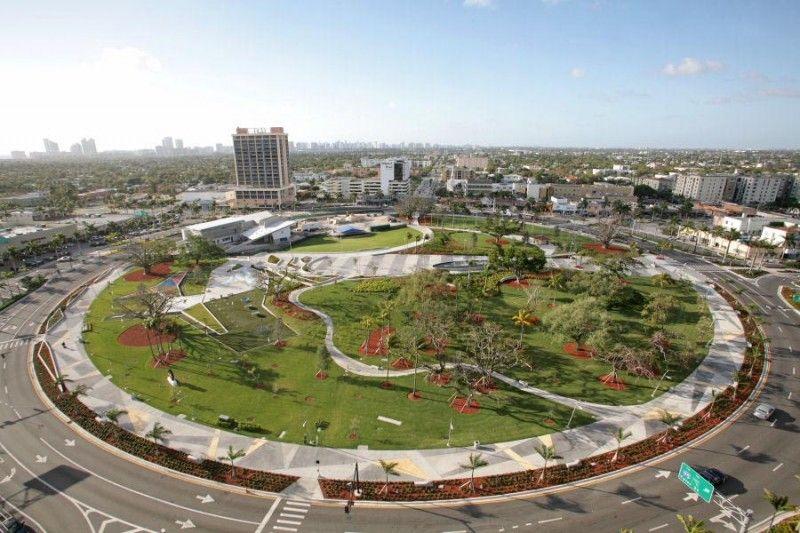 Artspark At Young Circle By Glavovic Studio United States Urban Landscape Park Landscape Urban Landscape Design