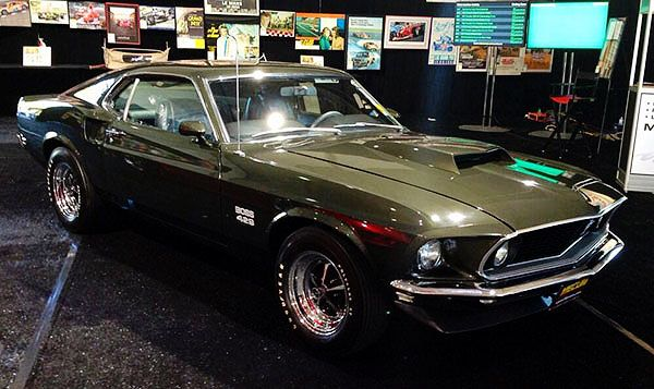 1969 Ford Mustang Boss 429 Black Jade Hot Rods Cars Muscle Ford