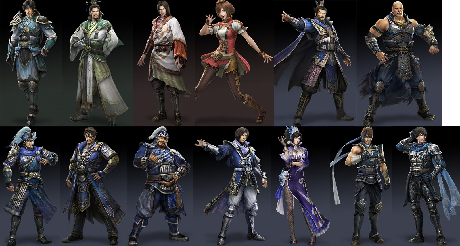 Dw8 Character Appearances Dynasty Warriors 8 Forum Neoseeker Forums Dynasty Warriors Dynasty Warriors Characters Warrior