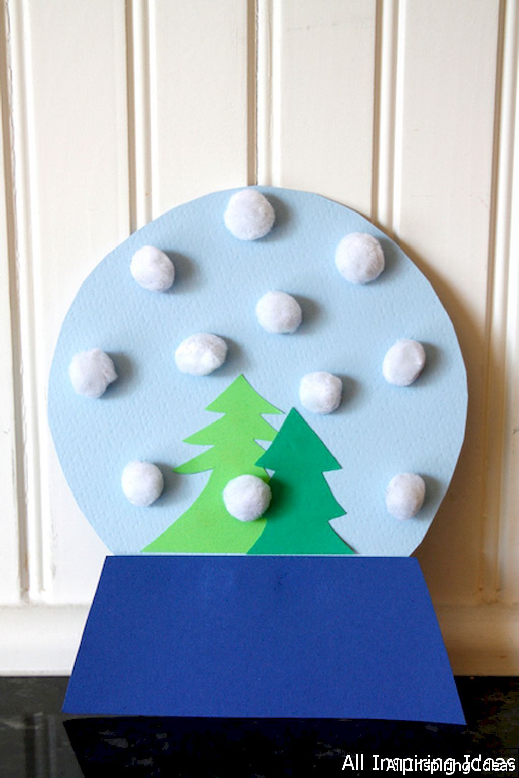 Winter Craft Ideas For Kids Easy Part - 23: Adorable 24 Fun And Easy Christmas Craft Ideas For Kids Https://lovelyving.