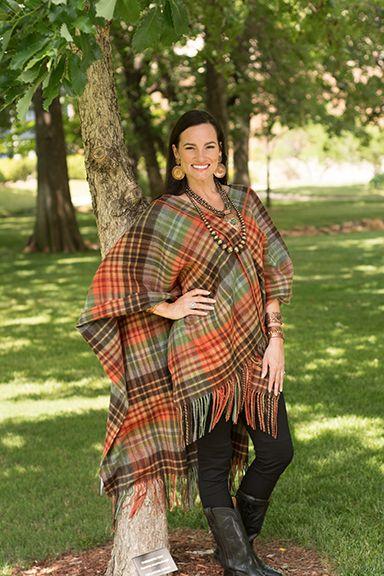 6099f0b024 Plaid Hooded Blanket Shawl