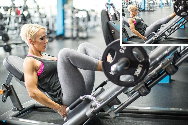 Legs Like Jessie's: Hilgenberg's 7-Move Workout - Bodybuilding.com