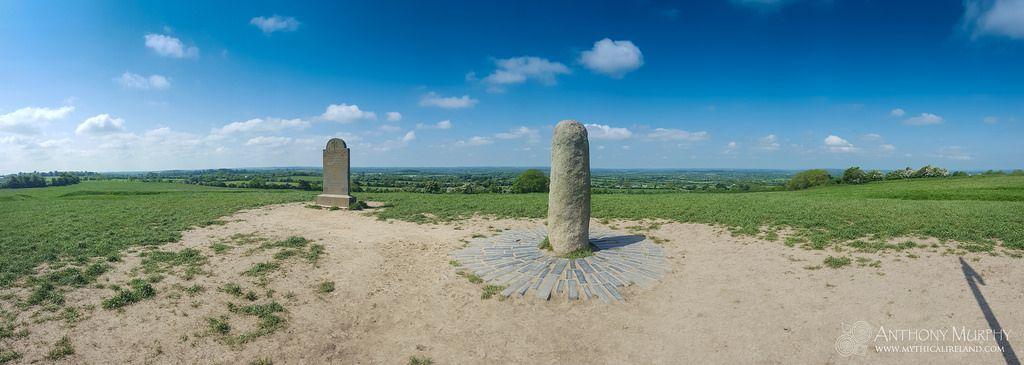 Stone of Destiny at the Hill of Tara