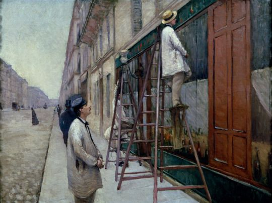 The House Painters, 1877, Gustave Caillebotte