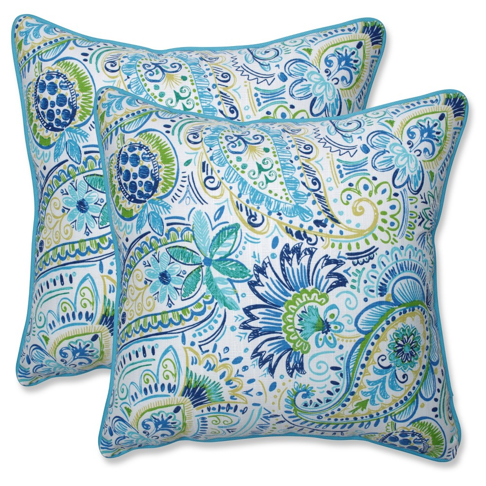 Outdoor Indoor Gilford Baltic Throw Pillow Set Of 2 Pillow Perfect