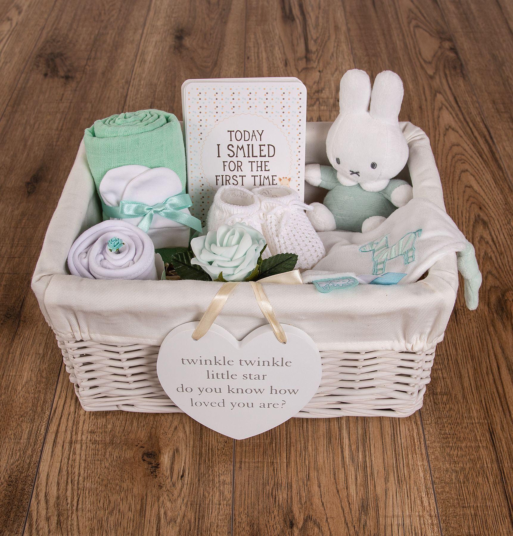 My First Miffy Baby Hamper Baby Hamper Miffy Baby Hamper Miffy In 2020 Baby Shower Gift Basket Baby Shower Baskets Baby Hamper