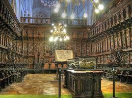 Coro De La Catedral De Toledo Lo Más Destacable Es La Sillería Alta Realizada Por Los Grandes Artistas Felipe De Bor Toledo Parques Nacionales Catedral