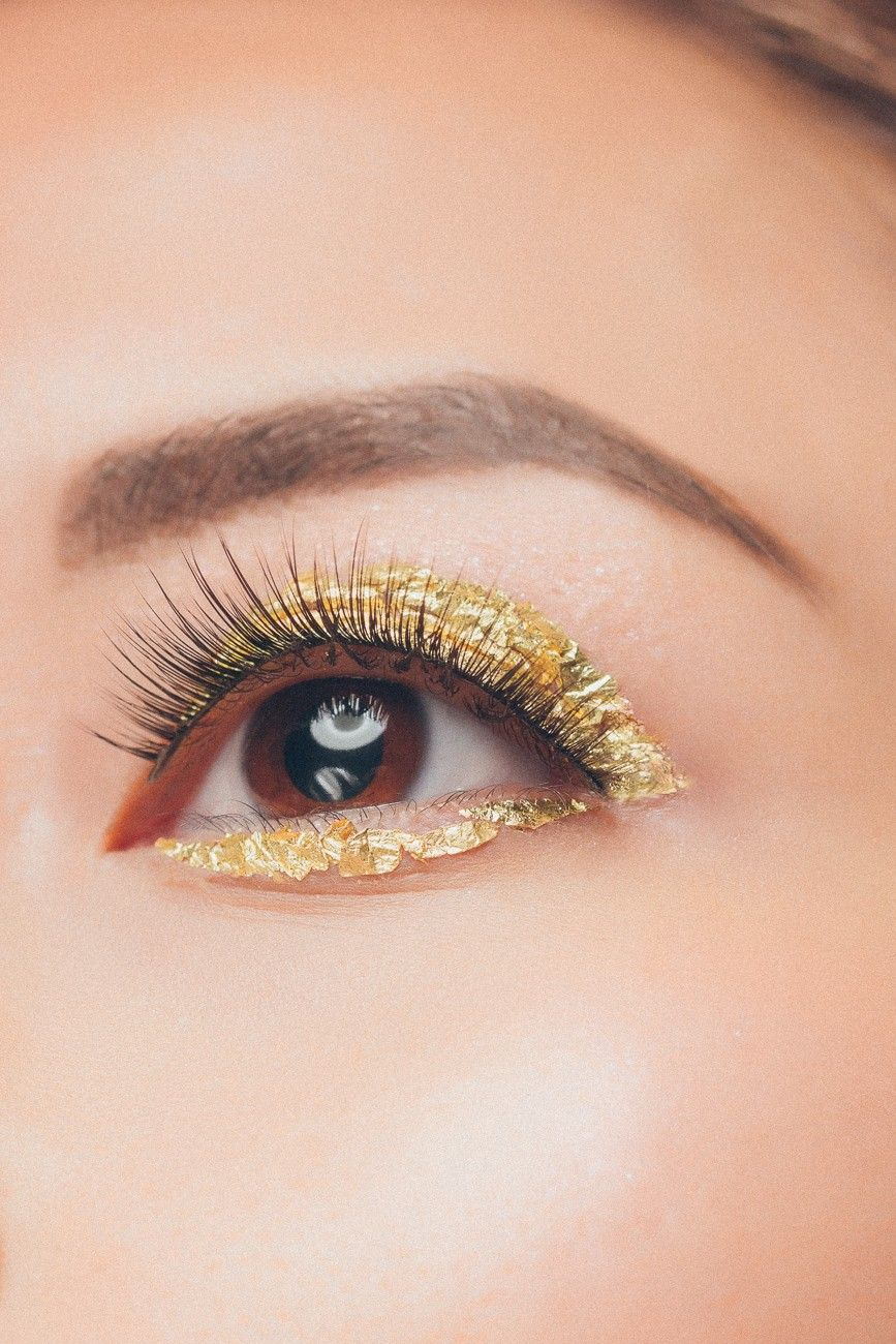 Gold Leaf Eyes Inspired By Jem And The Holograms Fashion