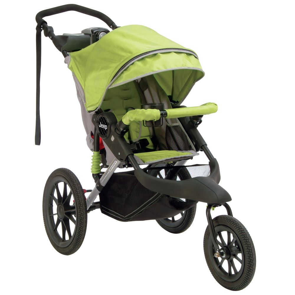 Jeep J Is For Jeep Wrangler Sport Jogging Stroller Overstock Com