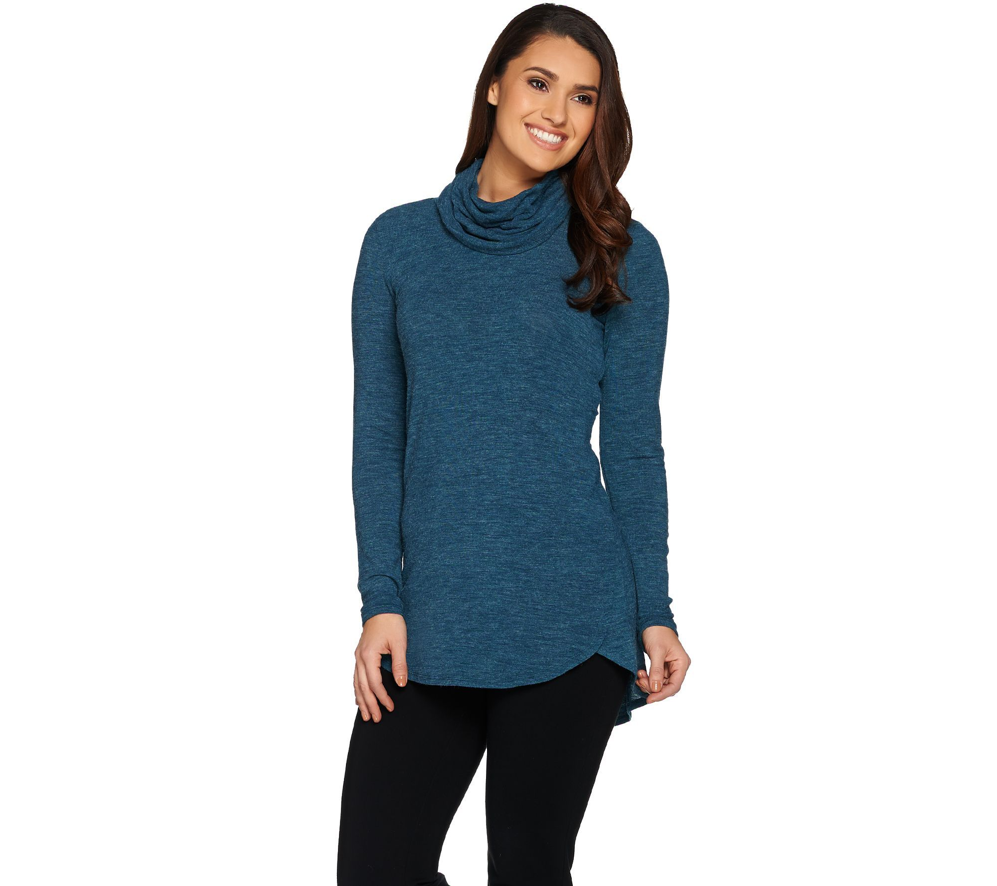 QVC LISA RINNA Cowl neck lightweight sweater $39.94 | Fashion and ...