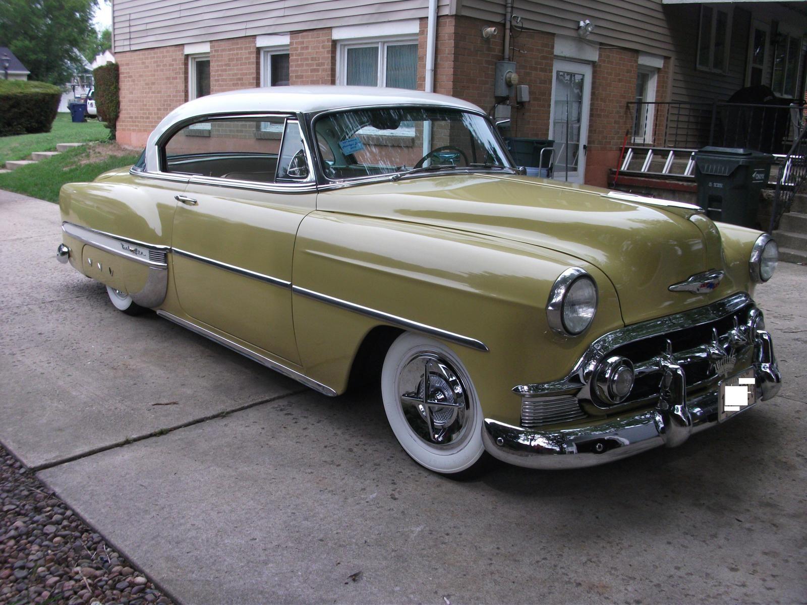 1953 chevy hardtop 15 000