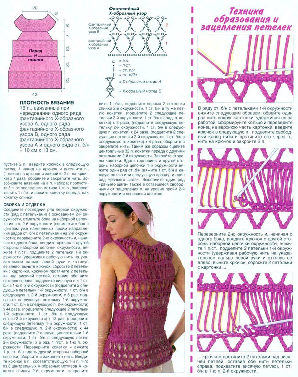 Pin de Mary Claar en Hairpin Lace/Maltese Crochet/Вилка/horquilla ...