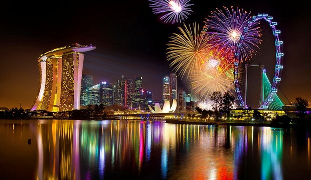 Resultat d'imatges de singapore new years eve