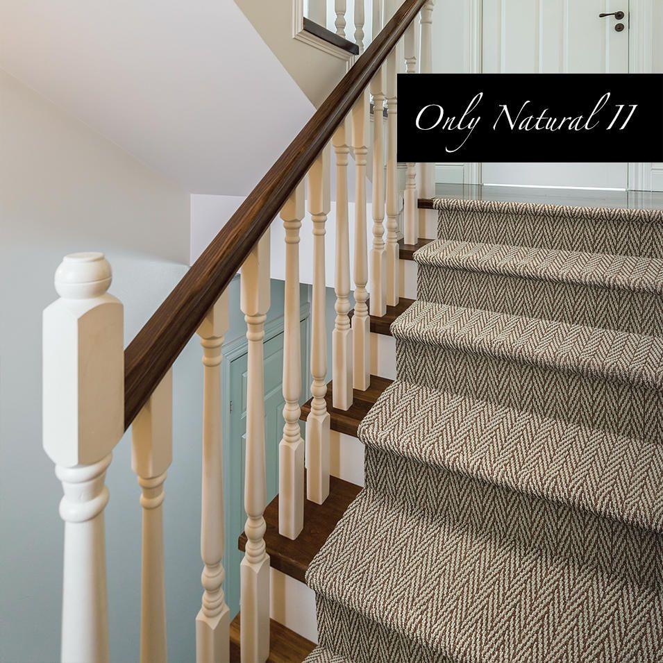 Best Only Natural Ii 677 Tuftex Stair Runner Carpet 400 x 300
