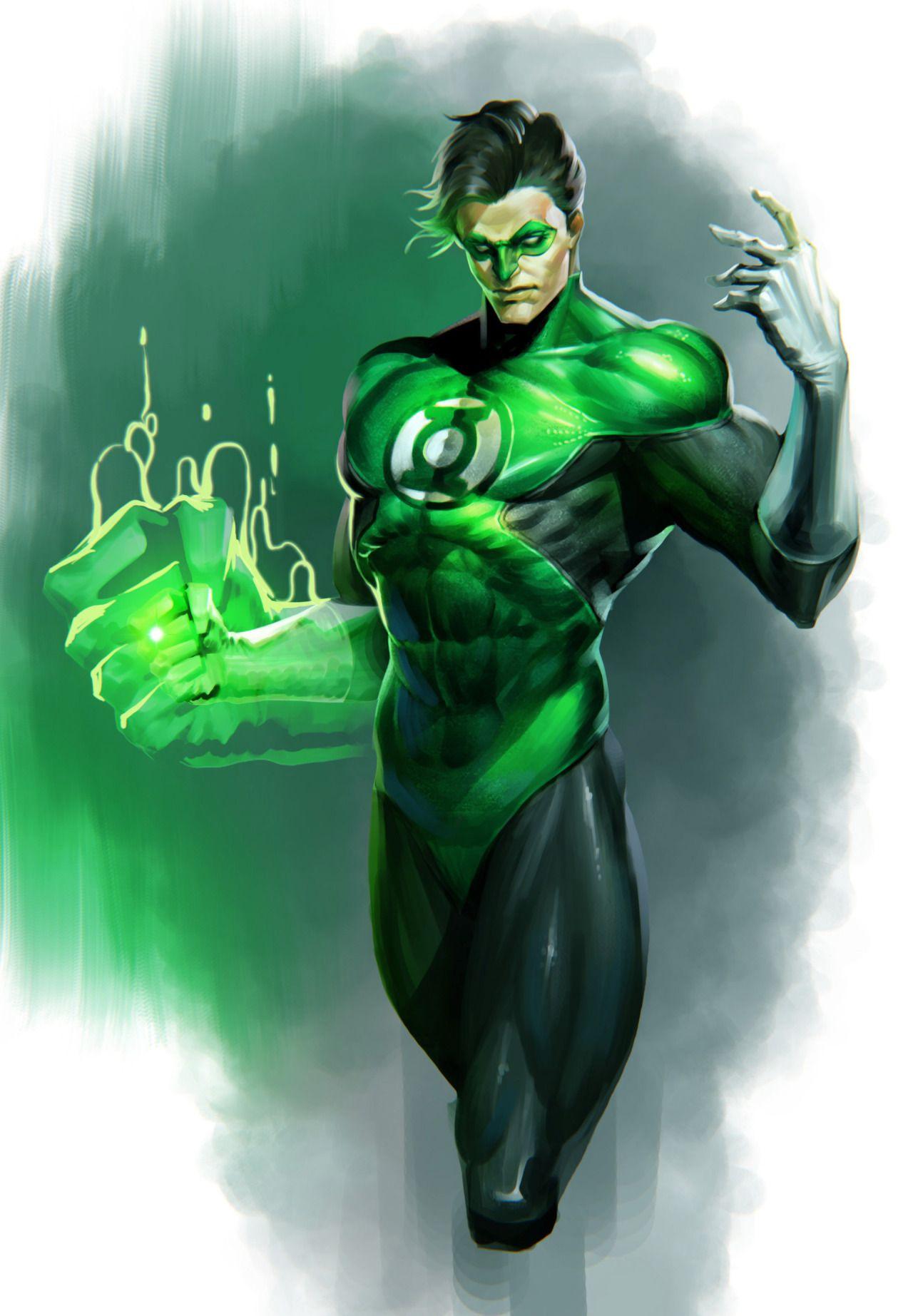 Green Lantern by 재문 윤 Green lantern comics, Green