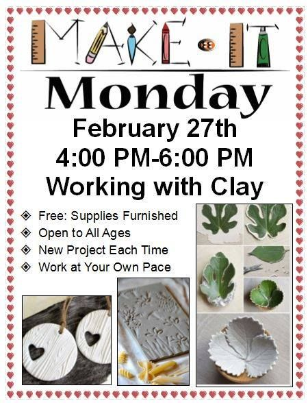 Make it Monday at the North Platte Public Library