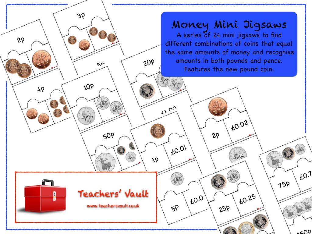 Money Mini Jigsaws With Images
