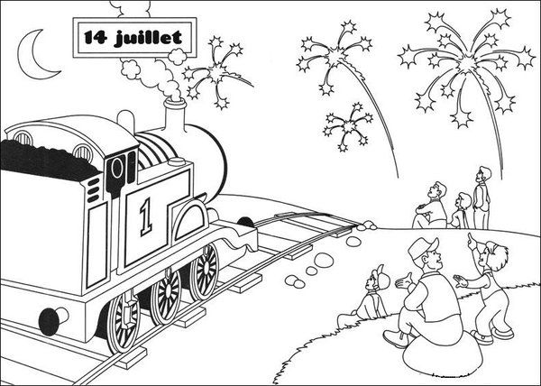 Thomas The Tank Engine Coloring Pages Picture 36 – Free Thomas The ...