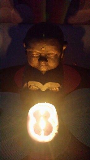 My reading Buddha.