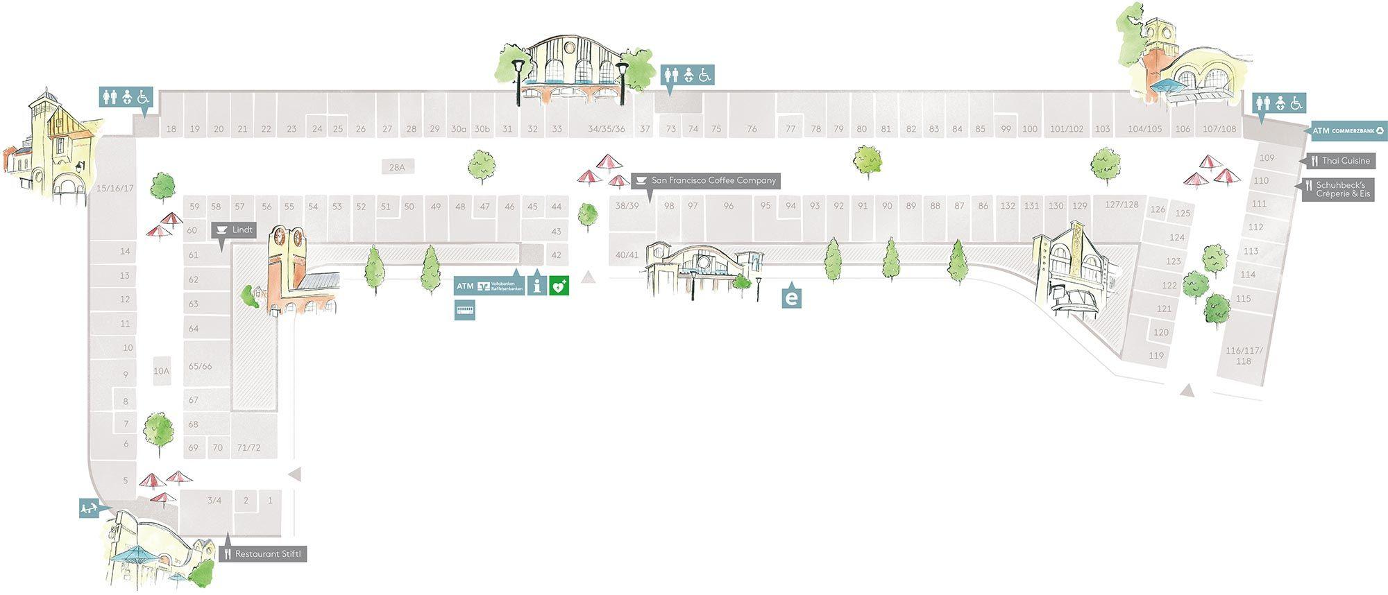 Village Plan Ortsplan Ingolstadt Village Anziehsachen