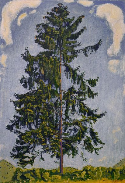Ferdinand Hodler - Symbolism - Switzerland - Tree