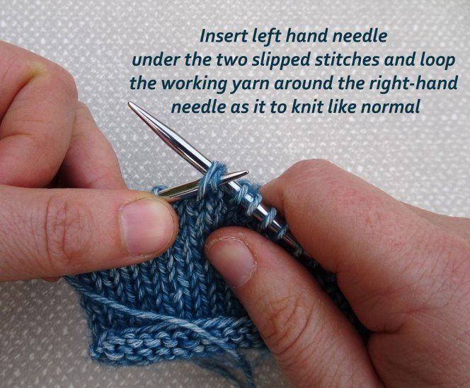 How To Make The Slip Slip Knit Ssk And Why Knitting Stitches