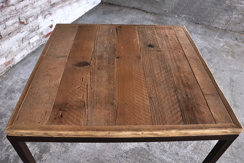 Tavolo In Ferro Brunito E Legno : Interior design recupero l piano di questo tavolo è realizzato con
