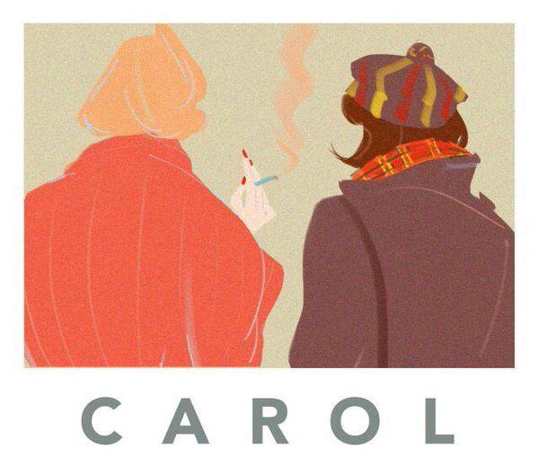 fan art for #Carol movie director Todd Haynes 2015 #Carolmovie