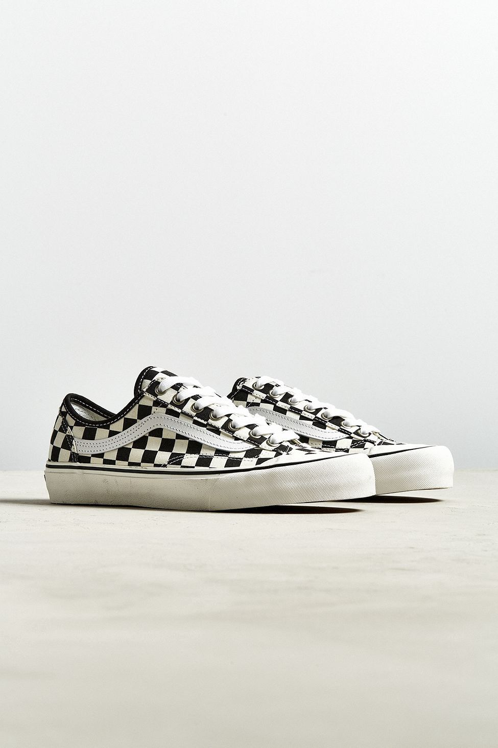 b52ea8f187 Urban Outfitters Vans Style 36 Decon Sf Checkerboard Sneaker - Black +  White One Size