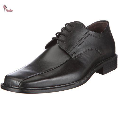 Andrew, Derbies à Lacets Homme - Noir (51 Noir), 41 1/3 EU (7.5 UK)Fretz Men