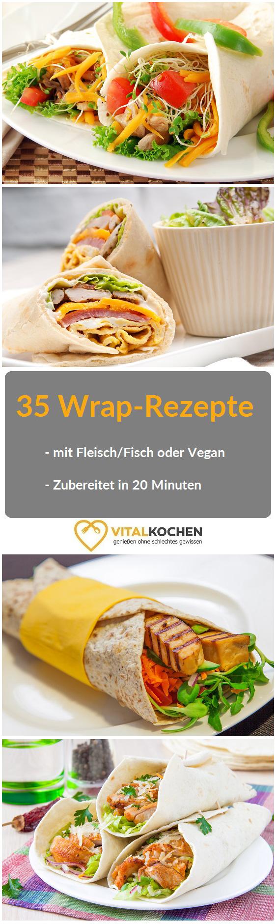 35 wrap rezepte einfach in 20 minuten zubereitet ob mit fleisch fisch vegetarisch oder vegan. Black Bedroom Furniture Sets. Home Design Ideas