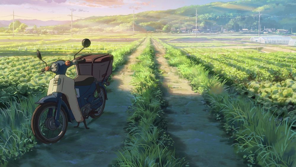 Your Name 100 Original Background Collection Anime