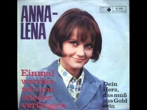 ▶ Dein Herz, das muss aus Gold sein - Anna Lena - YouTube