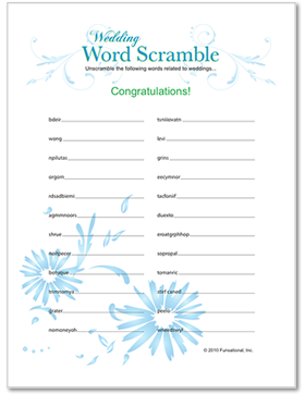 printable wedding shower games mine and alissas wedding fun quick and cute free printable games to get everyone involved