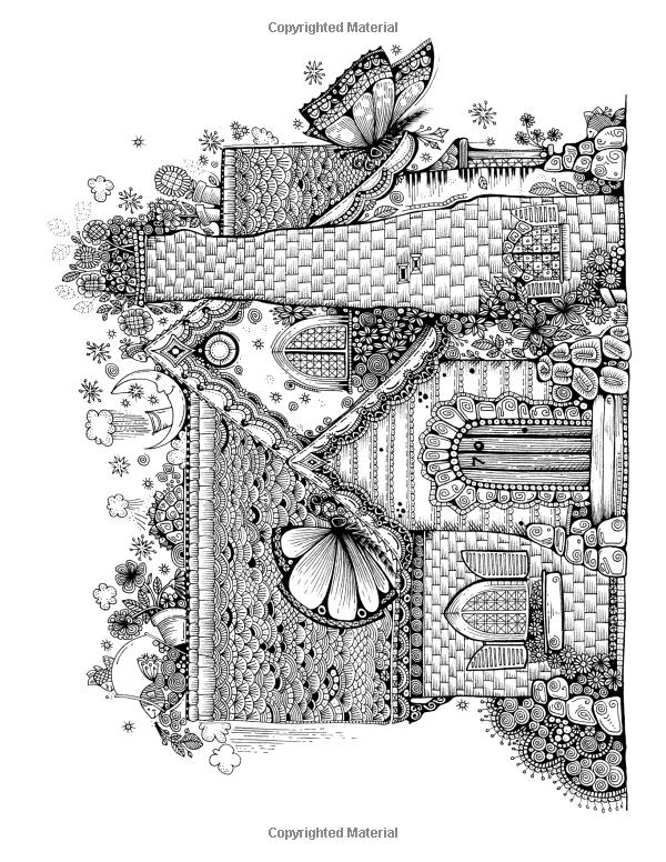 Amazon Anns Doodles A Kaleidoscopia Coloring Book The Magical World Of
