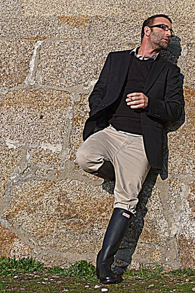 ad3e9f5a62c Pin by Charles R Tobin on Fashion in 2019   Hunter boots outfit ...