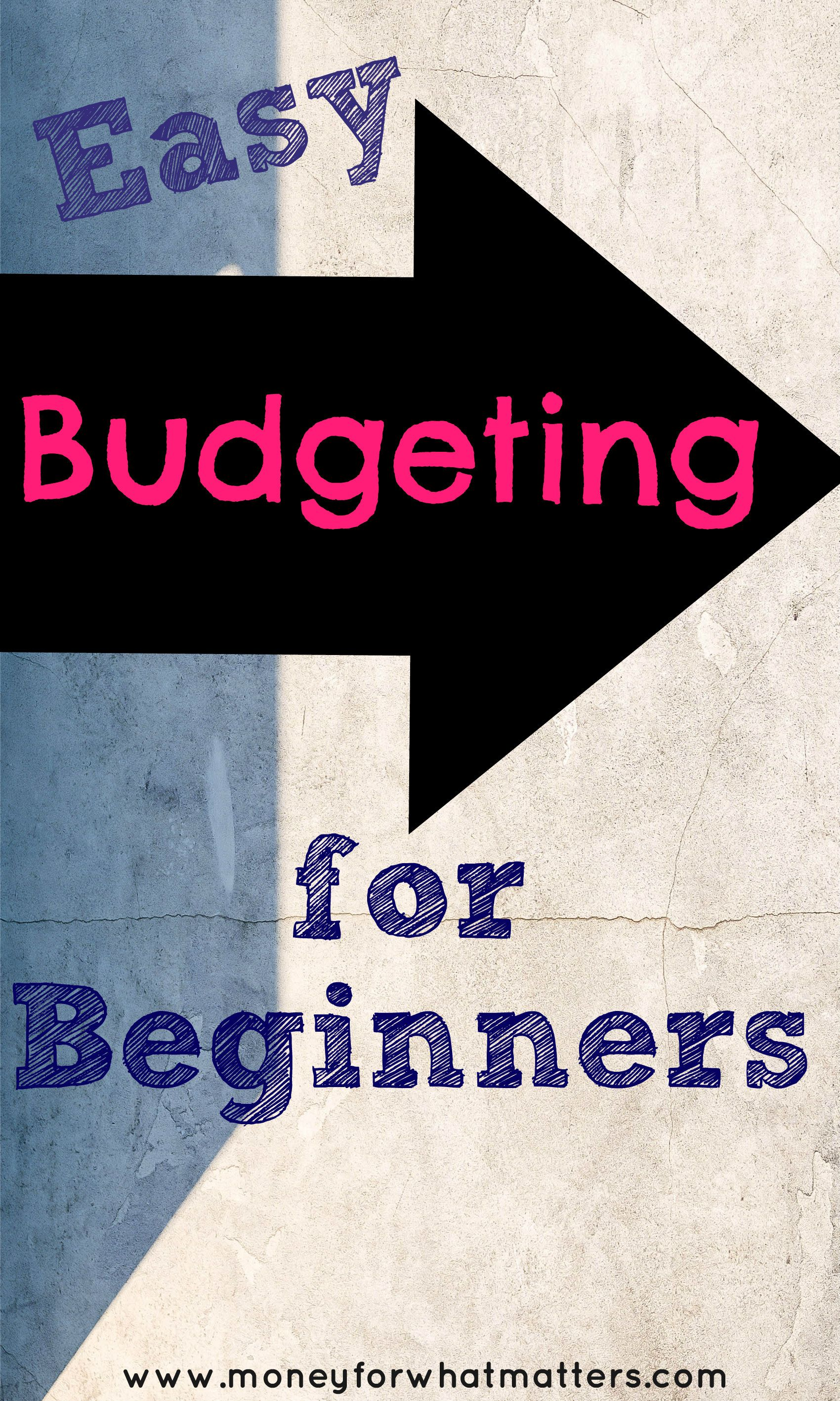 How To Budget Budgeting For Beginners Free Budget