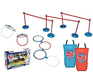 american ninja warrior obstacle course race set  qvc