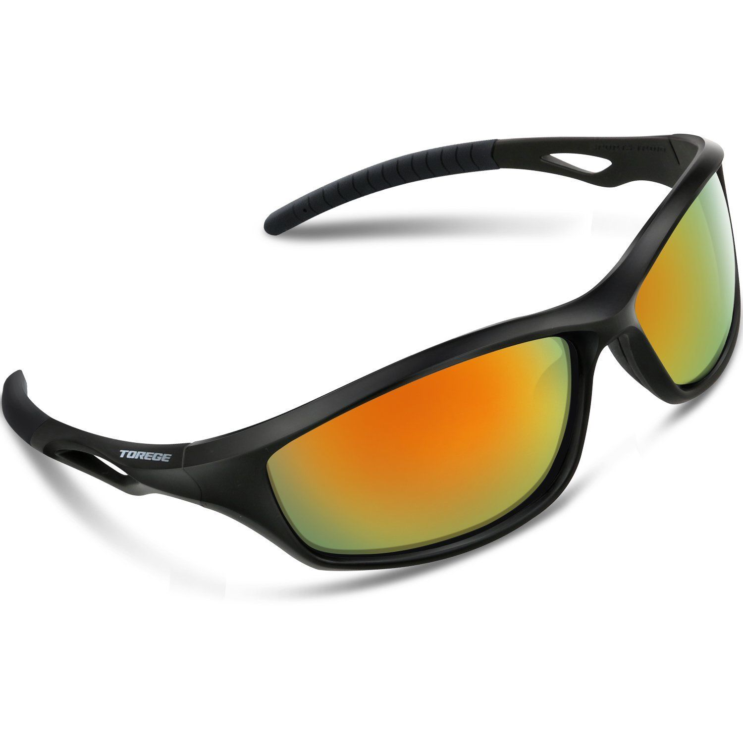 9f29cef2cb Gifts for Cyclists - Torege Polarized Sports Sunglasses For Men Women For Cycling  Running Fishing Golf Unbreakable Frame     Visit the image link more ...