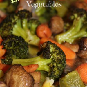 Easy Oven Roasted Vegetables Recipe Roasted Vegetables Baked Vegetables Roasted Veggies In