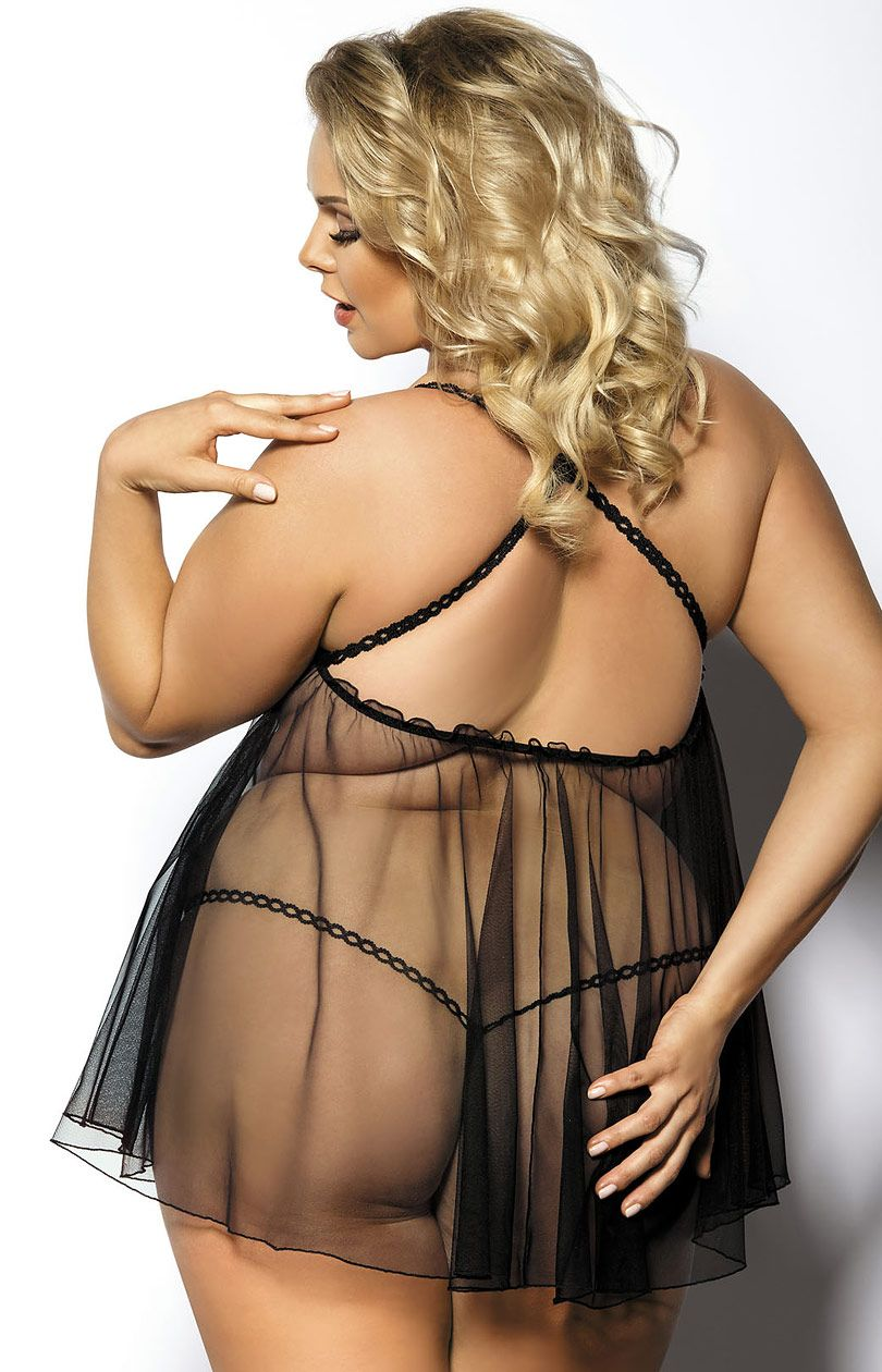Plus size lingerie lace open crotch and bra sexy underwear women erotic porno