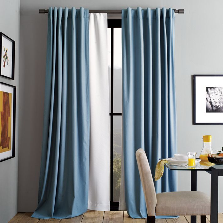 Secrets To Inexpensive But Good Drapery Velvet Curtains Blackout Curtains Blue Curtains