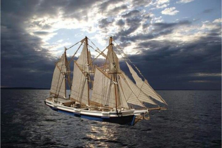 3 Masted Schooner Rouse Simmons Called The Christmas Tree Ship