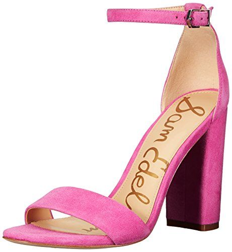 736f38f3ad8 Sam-Edelman-Womens-Yaro-Dress-Sandal-Hot-Pink-Suede-5-M-US-0