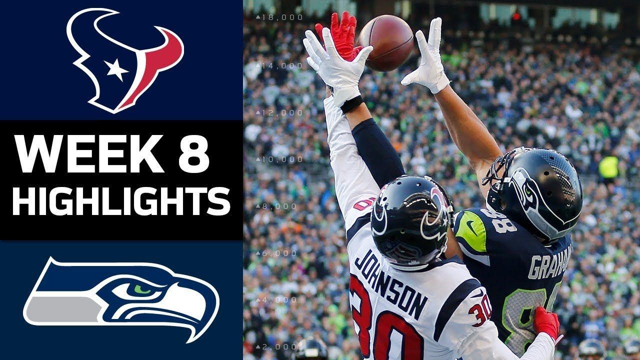 Texans vs. Seahawks NFL Week 8 Game Highlights https
