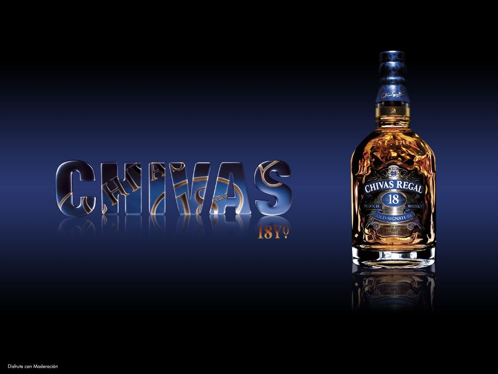 Chivas Regal Whisky 18 Rare Old Image Picture Desktop Full Hd Wallpaper Hd Wallpaper Whisky Blue Background Images