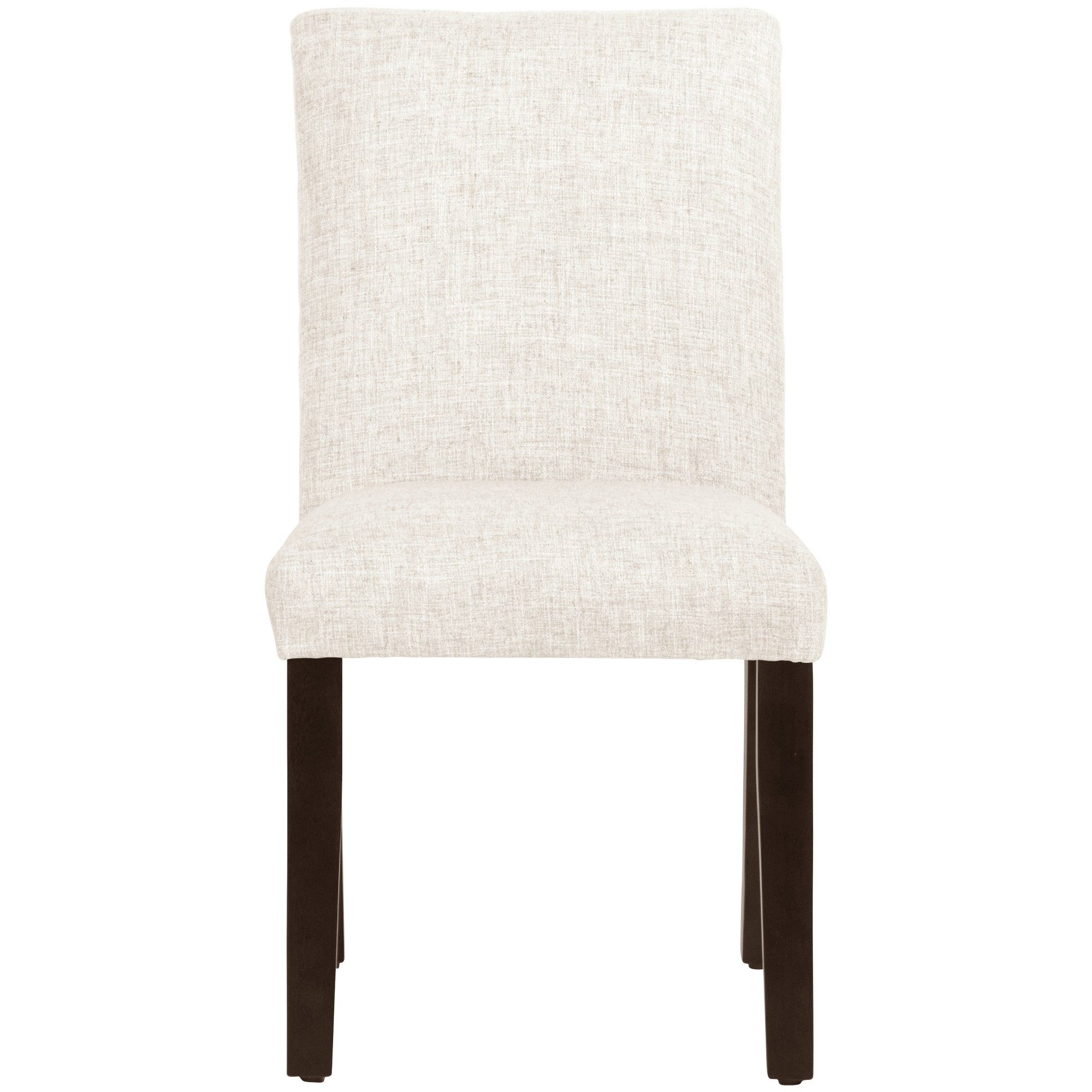 Parsons Dining Chair Off White Linen Threshold Adult Unisex