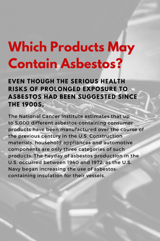 42++ Asbestos exposure test