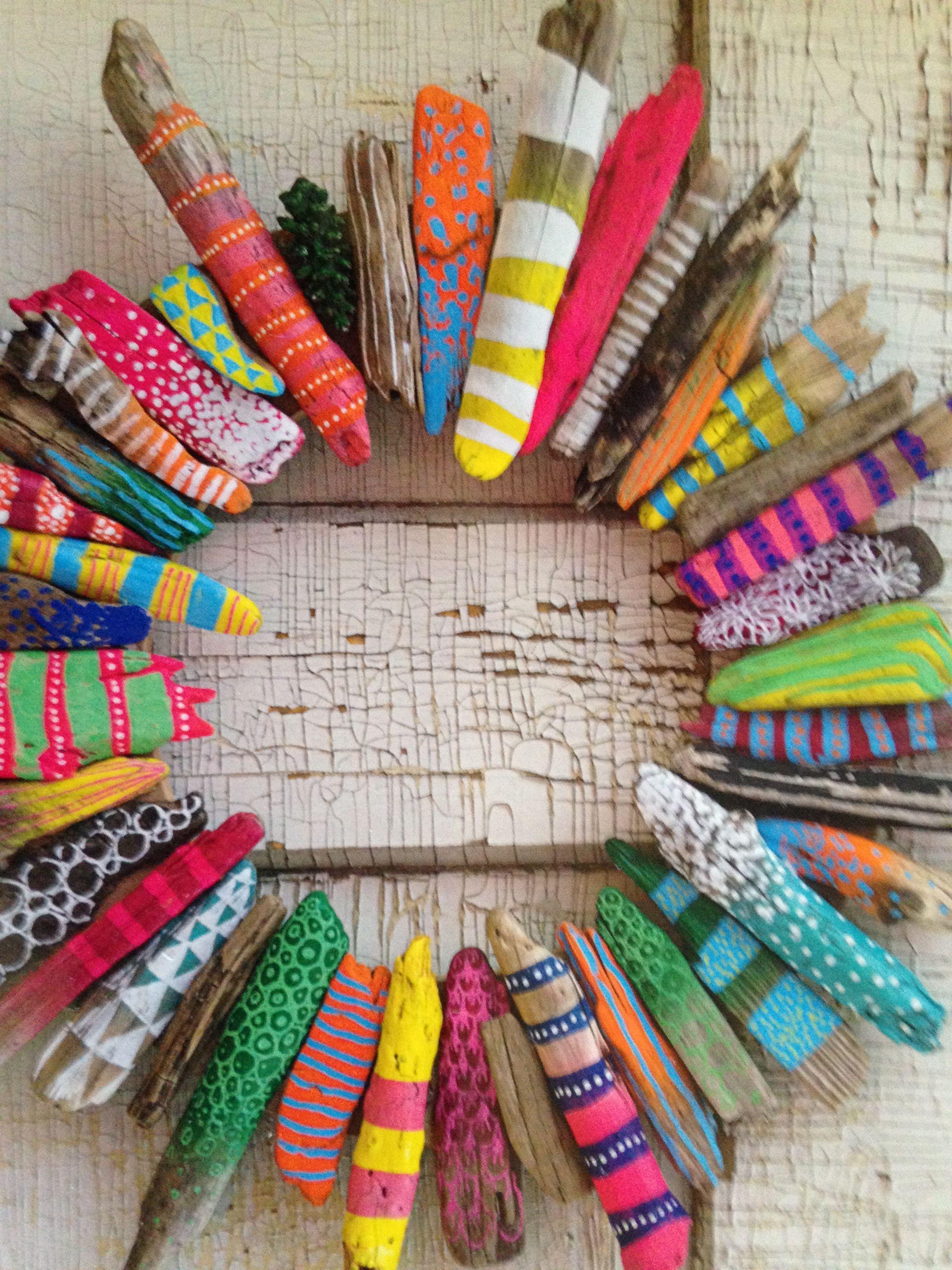 Photo of Fun family craft for an Oregon beach vacation! #twigart Fun family craft for an …